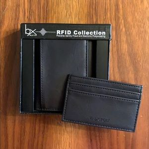 RFID Wallet and Matching Card Case